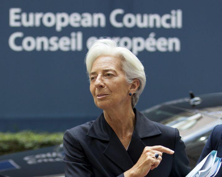 IWF-Chefin Lagarde: Geduld mit Griechenland