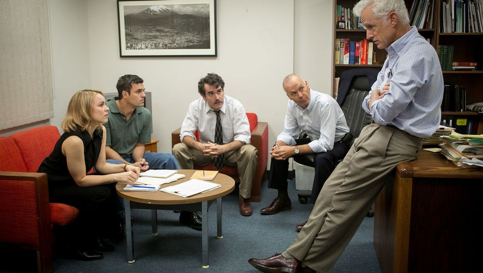 """Journalismus-Film """"Spotlight"""": Die Unbestechlichen"""