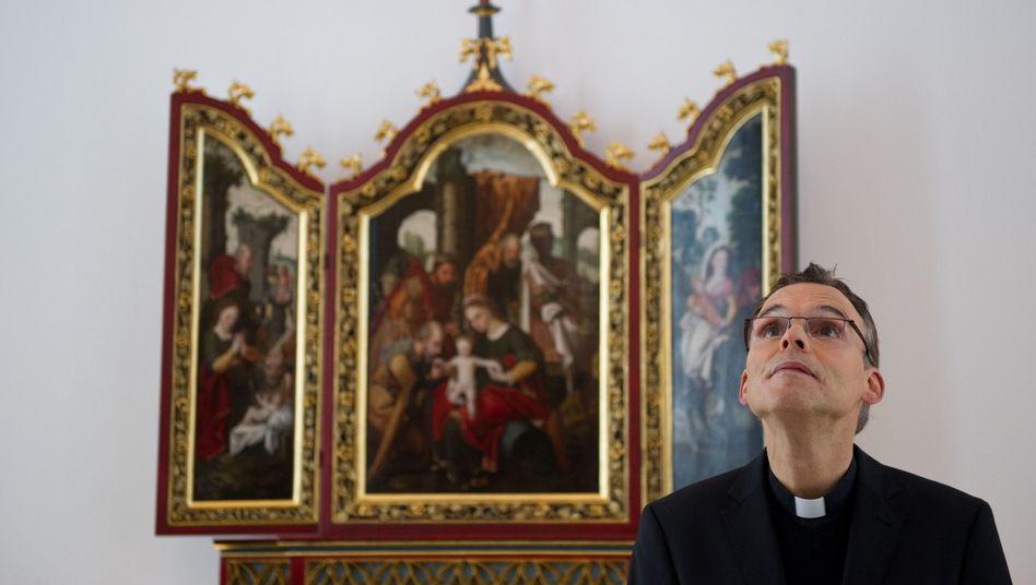 Bischof Tebartz-van Elst (Archiv): Protest gegen seinen Führungsstil