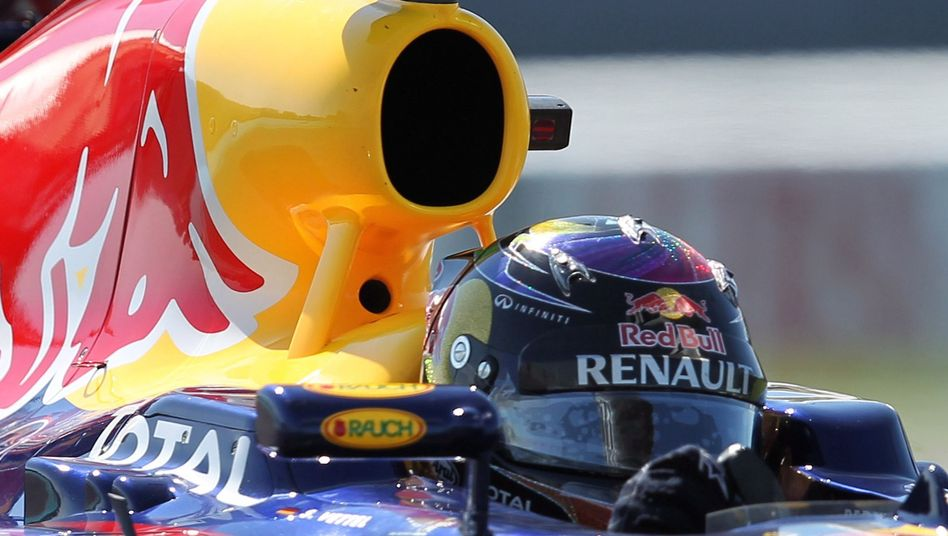Red-Bull-Fahrer Vettel: Unfall beim Freien Training in Abu Dhabi
