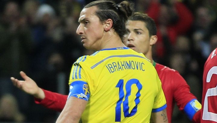 Schweden gegen Portugal: Star-Gala in Solna