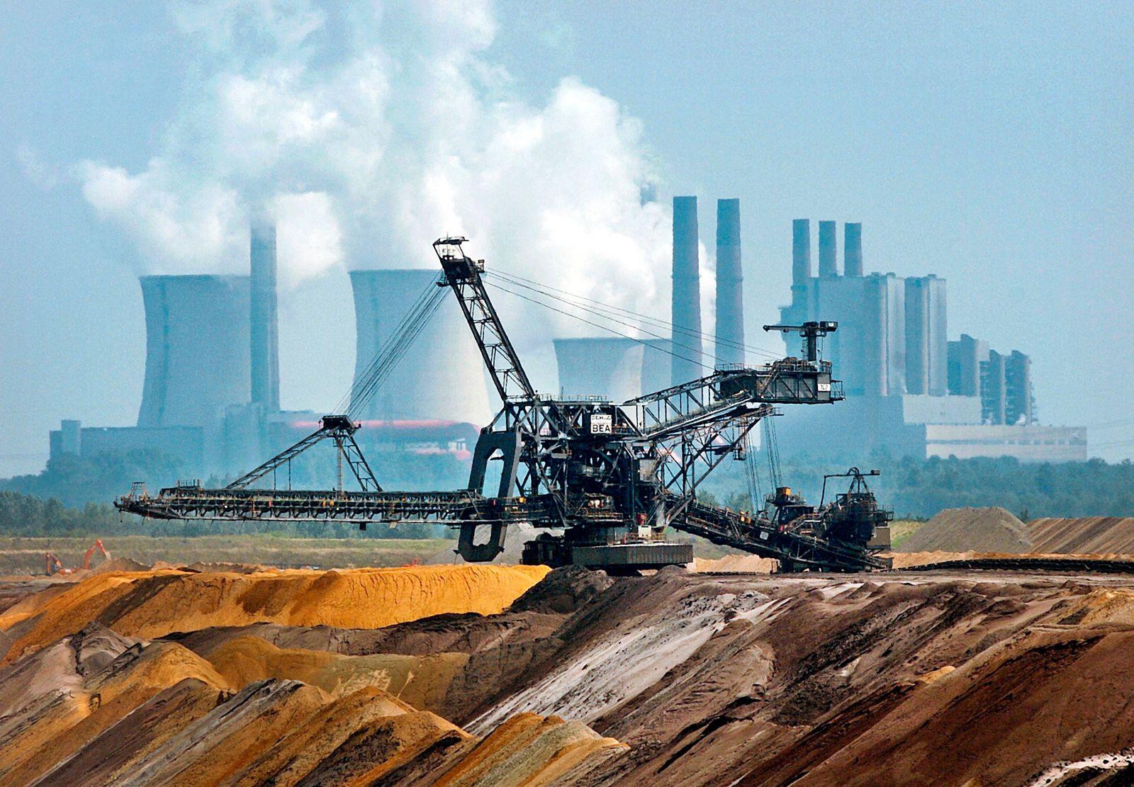 Braunkohletagebau / Braunkohleförderung / Braunkohle / Garzweiler