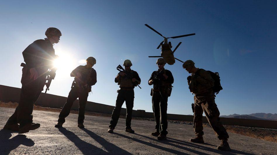 US-Soldaten in Afghanistan (Archivbild)