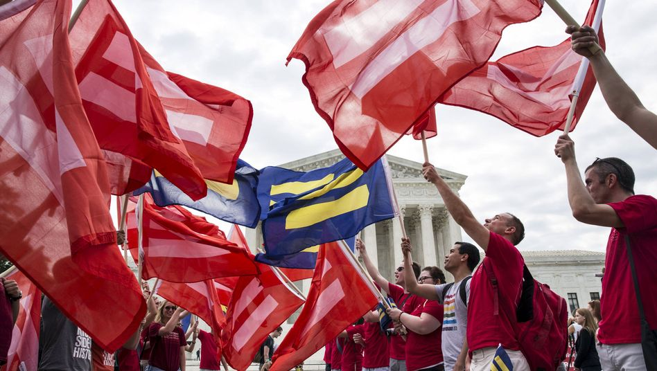 Homo-Ehe in den USA: Die Liebe gewinnt
