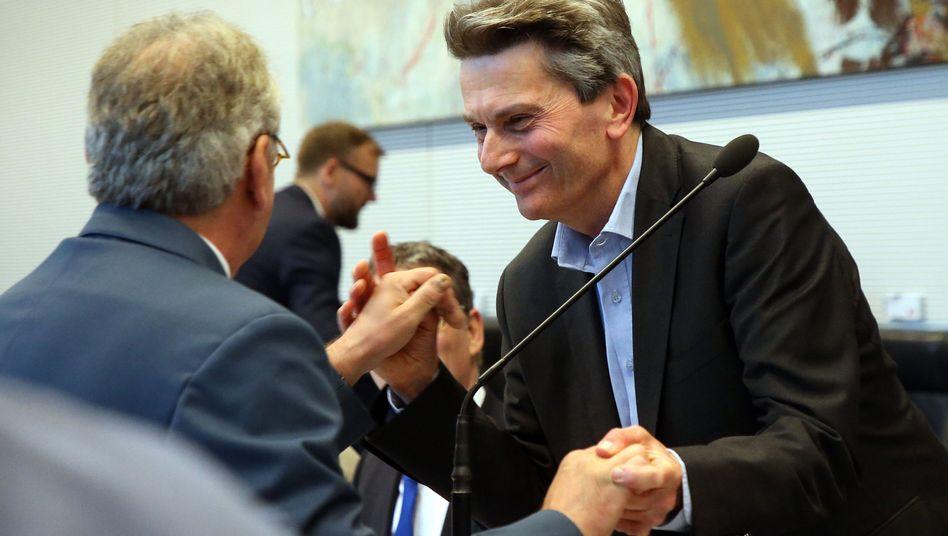 Rolf Mützenich: Glückwünsche nach der Wahl