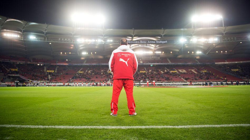 VfB-Trainer Stevens: Sturz bis an das Tabellenende