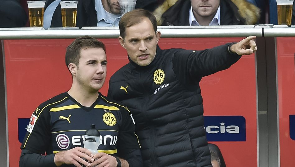 Dortmunds Thomas Tuchel, Mario Götze