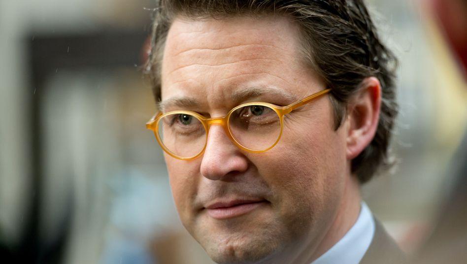 """CSU-Generalsekretär Scheuer: """"Obergrenze für die Aufnahme"""""""