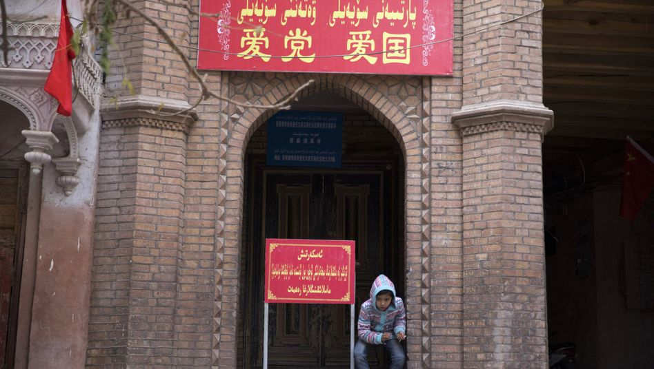 Moschee-Eingang in China