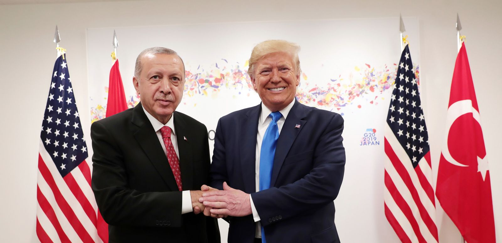 Recep Tayyip Erdogan / Donald Trump