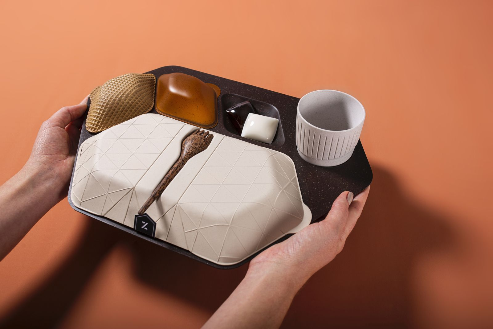 Crystal Cabin Award / PriestmanGoode / Zero - economy meal tray