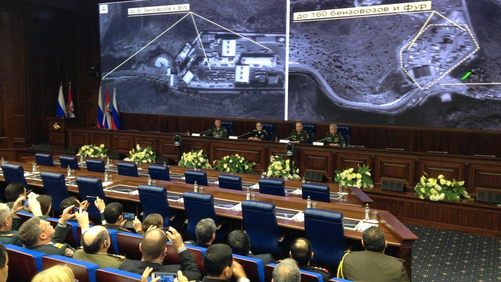 Fotostrecke: Satelliten-Show in Moskau