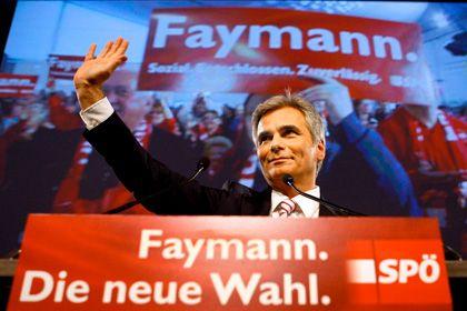Werner Faymann, Austria's new chancellor.
