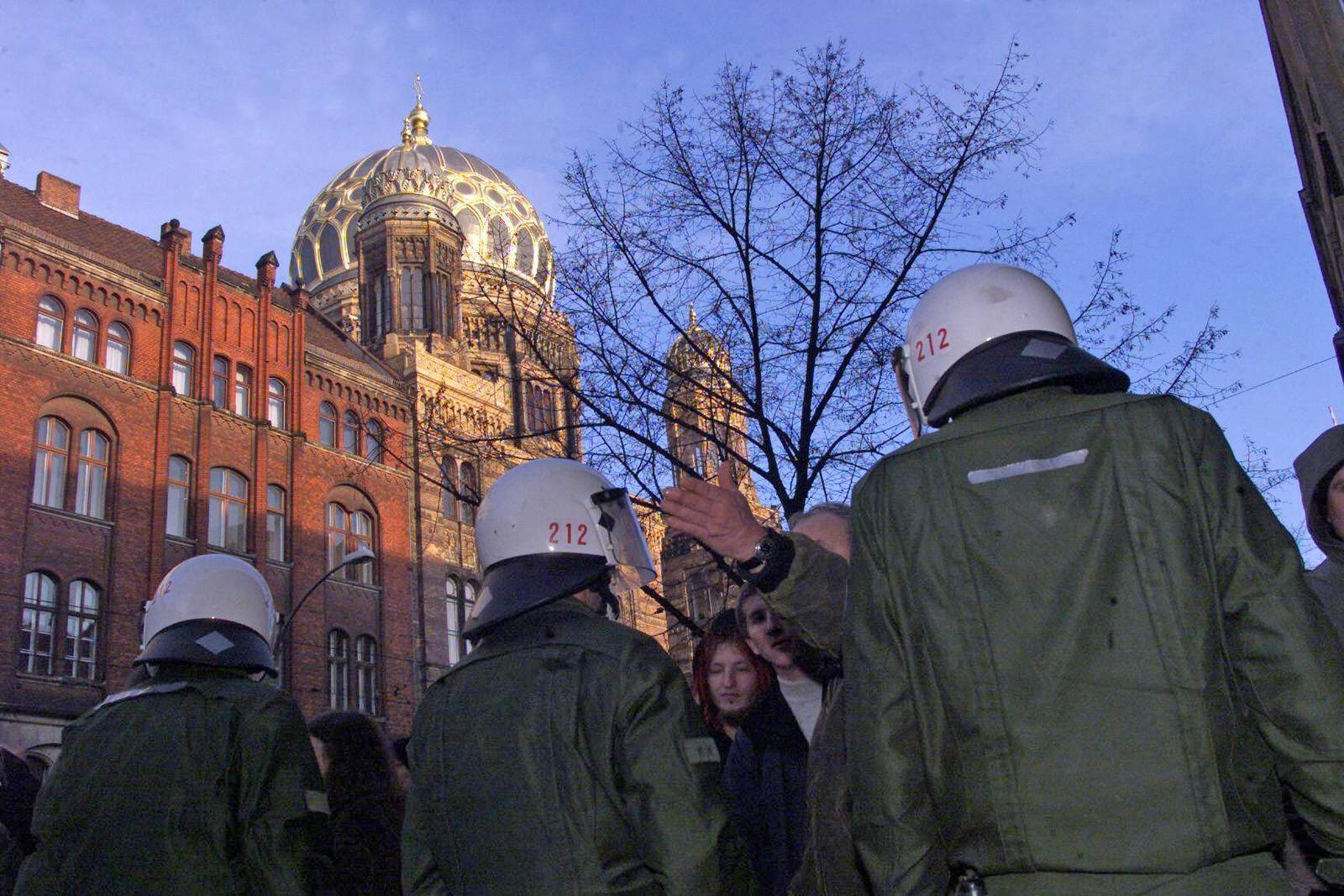 EINMALIGE VERWENDUNG Judentum / Synagoge / Berlin