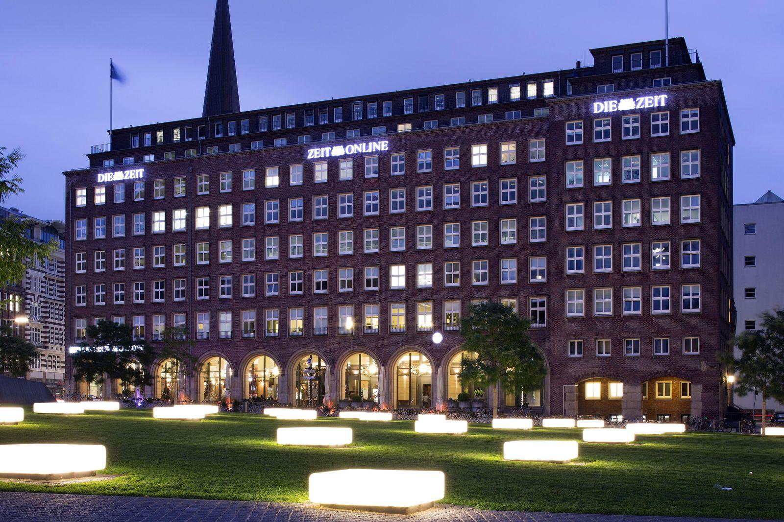 Pressehaus am Speersort, Verlag und Redaktion der Wochenzeitung DIE ZEIT, Hamburg, Deutschland, Europa