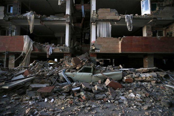 Sarpol-e-Zahab im Westen des Irak nach dem Erdbeben
