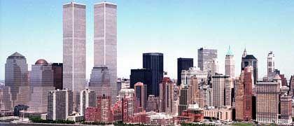 Ein Bild der Vergangenheit: Manhattans Skyline vor den Anschlägen