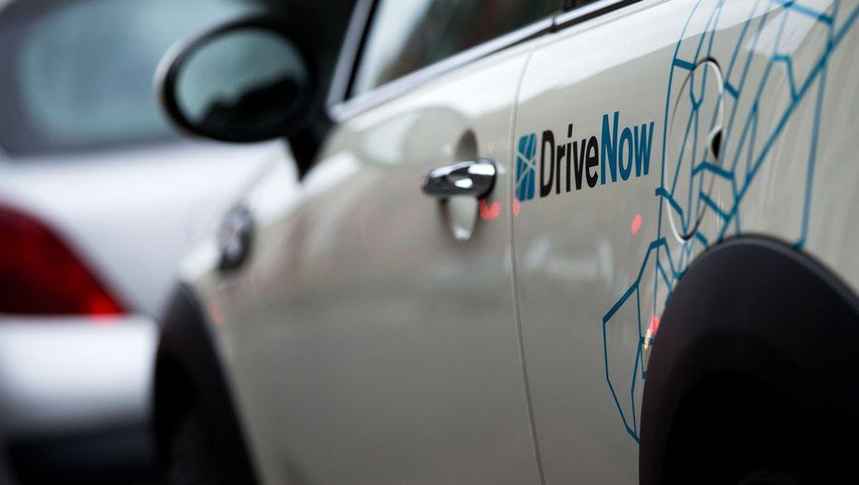 Carsharing-Auto von BMW DriveNow