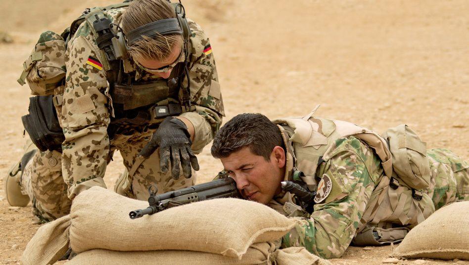 Bundeswehr-Ausbilder im Nordirak: Sechs Millionen Schuss Munition