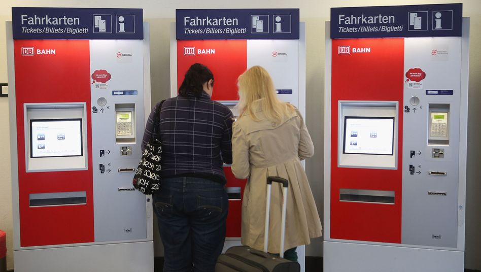 """Bahn-Ticketautomaten (Symbolbild): """"Skepsis gegenüber offenen Daten"""""""