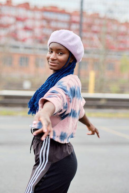 Oumi Janta, 30, hat das Jam-Skating in Deutschland groß gemacht.