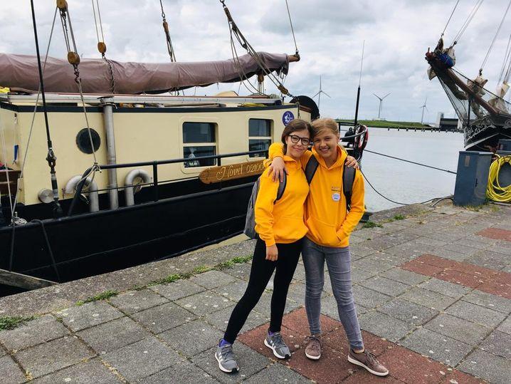 Urlaub ohne Eltern: Im August ging Helen mit anderen Kindern und Jugendlichen auf eine Segelreise.