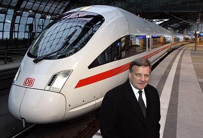 Bahnchef Mehrdorn: Gehaltssteigerung in der Kritik