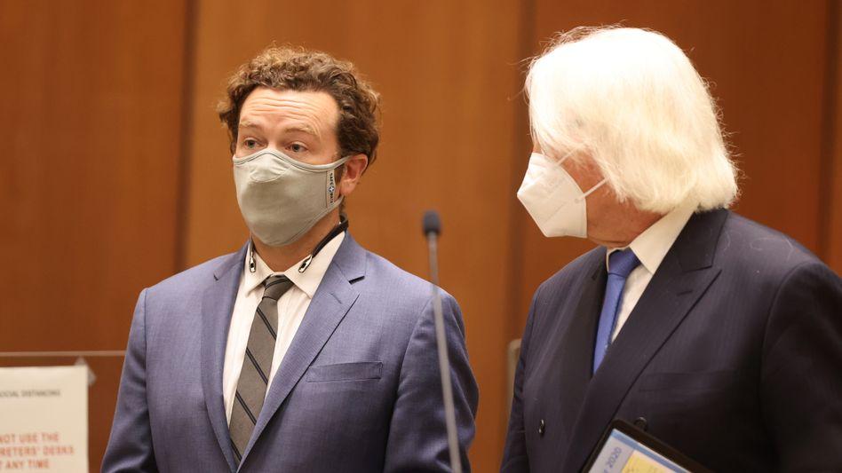 Danny Masterson bei einer Anhörung im September: Anklage zugelassen