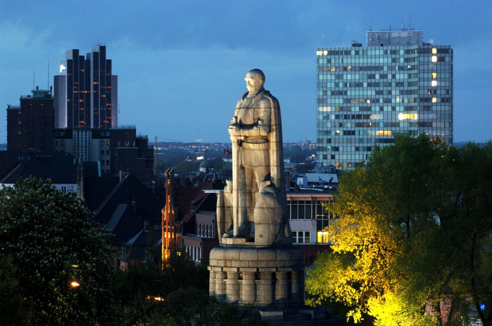 Hamburg: Bismarckdenkmal