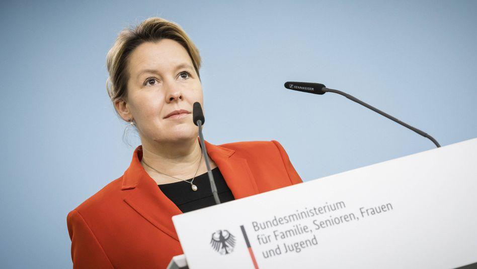 Frauenministerin Franziska Giffey (SPD)