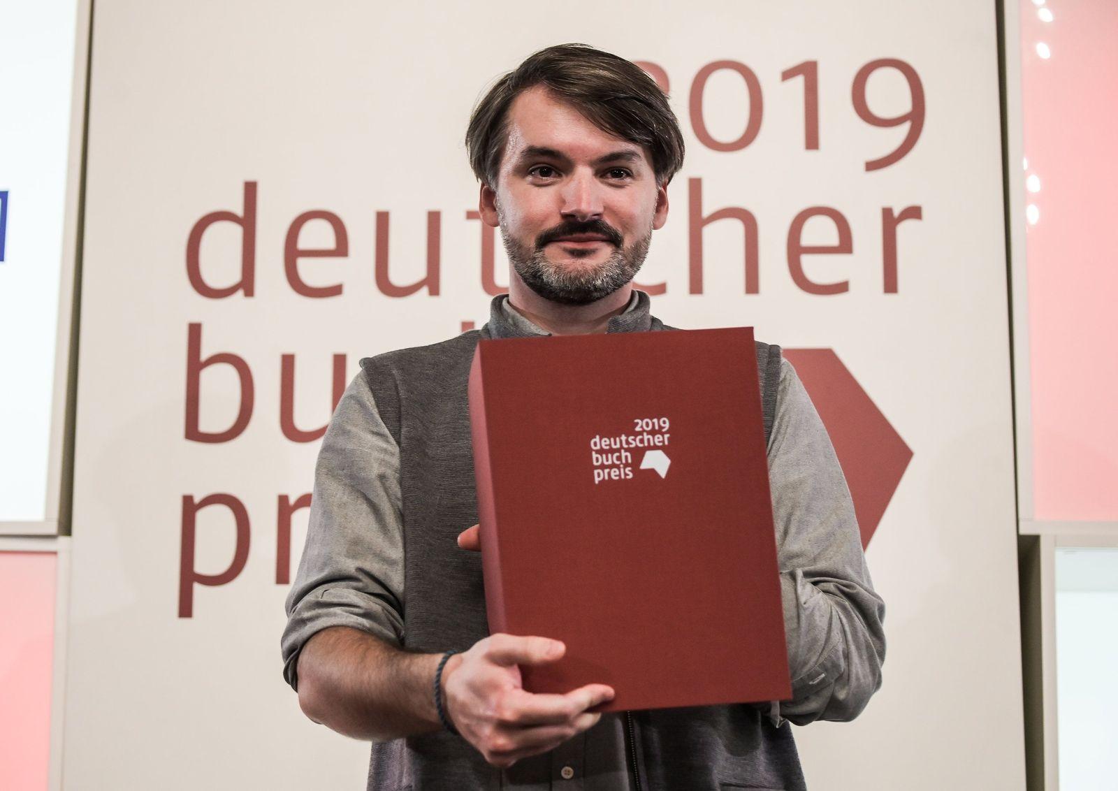 Deutscher Buchpreis 2019/ Sasa Stanisic