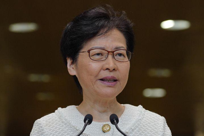 """Hongkongs Regierungschefin Carrie Lam: """"Gemeinsame Vorteile"""" nicht gefährden"""