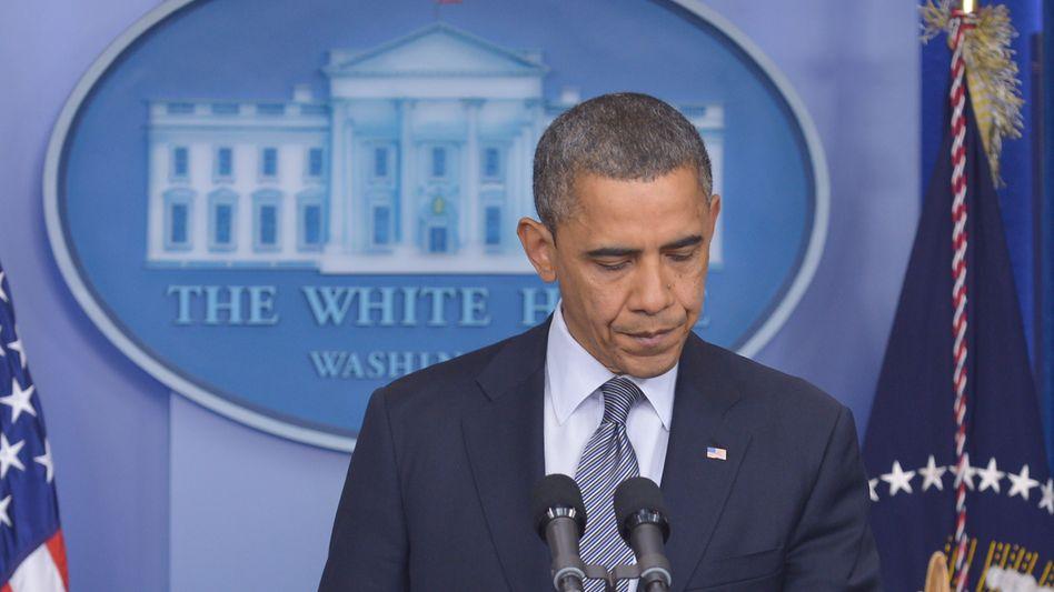 """US-Präsident Obama: """"Wir haben zu viele dieser Tragödien durchgemacht"""""""