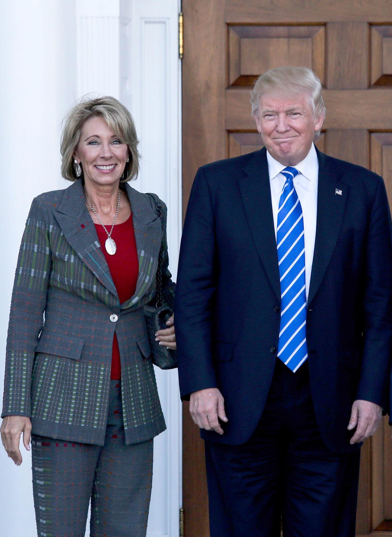 Donald Trump / Betsy DeVos
