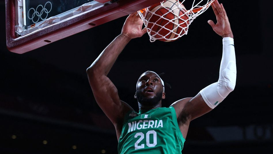 Josh Okogie spielt für die Minnesota Timberwolves in der NBA und ist einer der Stars des nigerianischen Teams bei Olympia