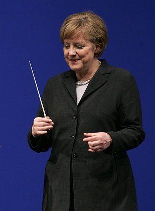 German Chancellor Angela Merkel wants to fix Europe.