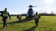 Per Hubschrauber gegen Schleuser