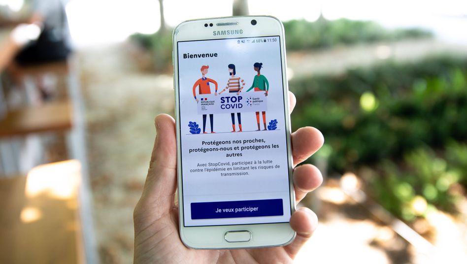 Die französische Warn-App: im eigenen Land unbeliebt