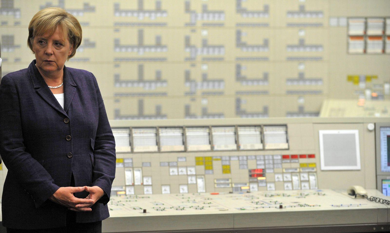 Merkel Atomkraftwerk