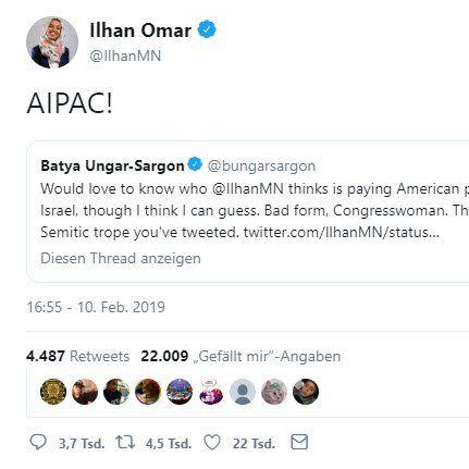 Omar Tweet