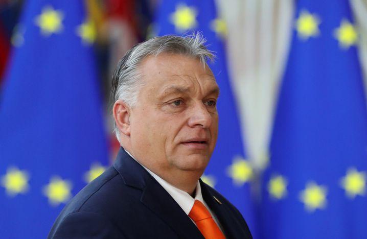 """Ungarns Premier Orbán: """"Ihn privat um etwas bitten? Selbstverständlich nicht!"""""""