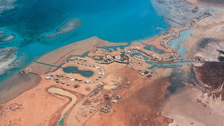 El Gouna am Roten Meer: Auf Strand gebaut