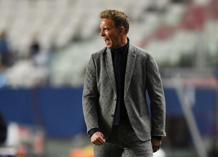 Leipzigs Trainer Julian Nagelsmann: Vergangene Saison im Halbfinale der Königsklasse