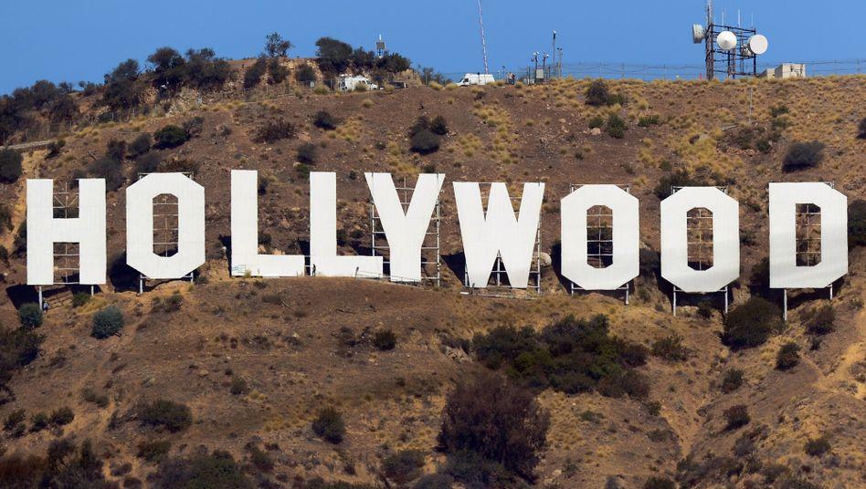 Hollywood Schriftzug