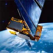 An artist's impression of the Galileo satellite in orbit. The orginal plan was for the project to have a purely civilian purpose. But now the military is interested.