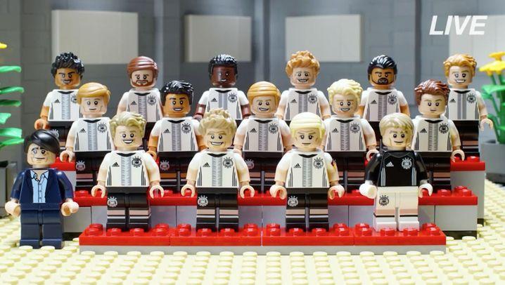 Nationalelf als Lego-Figuren: Podolski fehlt, Kruse gesetzt