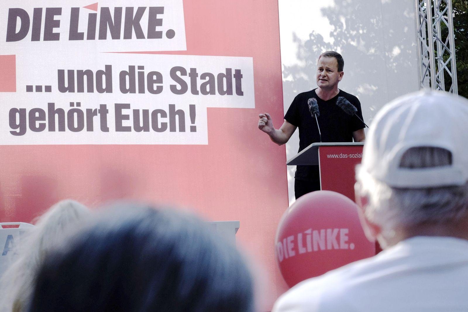 EINMALIGE VERWENDUNG Linke Berlin