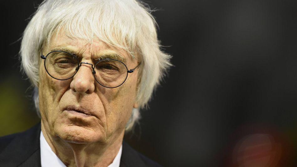Formel-1-Boss Ecclestone: Die großen Teams bekommen am meisten ab
