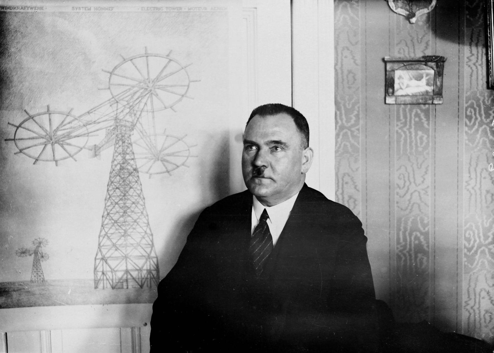 Windkraft Pioniere - Hermann Honnef