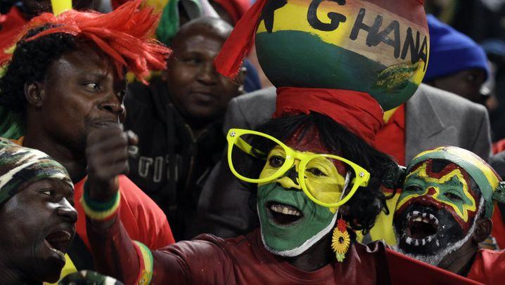 Achtelfinale USA vs. Ghana: Ghana jubelt, Amerika trauert